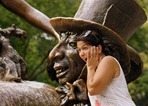 Amanda Wigley, Alice in Wonderland sculpture in Central Park