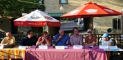 L to R: Wade Schulz, Paul Reiland, Frank Balster, Steve Engler, Joe Gasior, David Ludescher, Betsey Buckheit