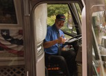 Jack Park, driver, Northfield Lines