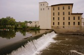 Ames Mill dam on the Cannon River, downtown Northfield
