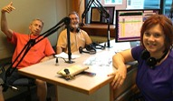 LoGro Triumvirate reunion: Griff Wigley, Ross Currier, Tracy Davis