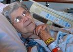 Audre Wigley with broken hip