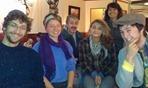 Front: Arlo Cristofaro-Hark, Helen Forsythe, Antonia Cristofaro-Hark, Cliff Martin