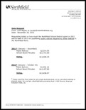 Northfield School District Public Notice Expenses Northfield News 2011 2012