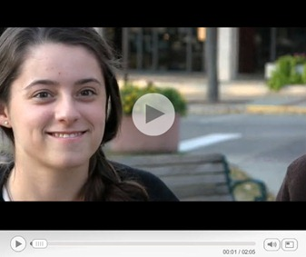 Recycling bin video by Logan Regnier