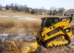Mowing in the winter: Steve Malecha gives Northfield's storm water ponds a shave