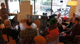 Downtown bike commuters mtg at GBM