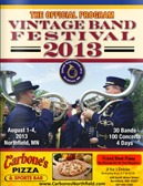 Vintage Band Festival program guide 2013