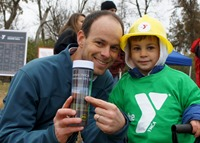 2014 Board Chair Nate Jacobi and his son