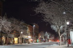 Photo album: Bridge Square & Division St. after a snowfall