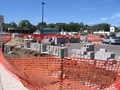 streetscape construction at hwy. 3