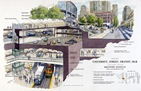 transit hub sketch