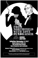 NHS 007 auction poster