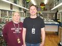 Kerri Thayer and Scott Houfer