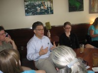 Al Franken in Northfield
