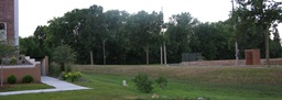 roller hockey rink at Riverside Park