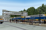 Northstar Commuter Rail Line sketch