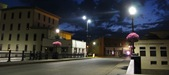 downtown Northfield - night