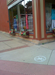 No biking stencil