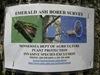 Emerald Ash Borer sign
