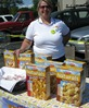 Monica Kennon with Mom's Best Naturals at the Just Food Co-op Harvest Festival