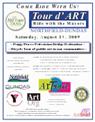 tour d art flyer 2009