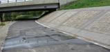 MTT retaining wall leak