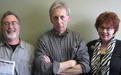 LoGroNo Triumvirate: Ross Currier, Grumpy Griff Wigley, Tracy Davis