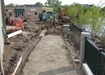 Construction on Riverside trail extension
