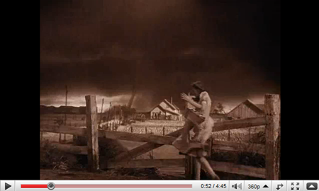 wizard of oz tornado screenshot