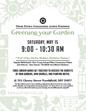 Greening Your Garden flyer