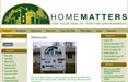 Home Matter blog site