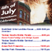 4th July 2010 poster