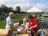 Northfield 4th of July flea market in Ames Park