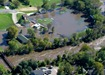 Flooded Memorial Park, Dundas, MN