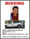 Jerry Davidson - missing poster