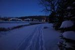 Snowshoe and ski trails around Hidden Valley Park
