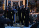 Northfield Historical Society breaks ground on accessibility project