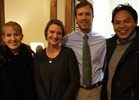 Liz Reppe, Katie Arnold, Carl Arnold, Jonathan Reppe