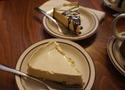 London cheesecake at Pan Pan Cafe in Nothfield, MN
