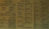 1st of Thai menu