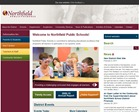 Northfield School District website