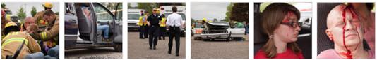 mock crash photo album on Northfield Patch