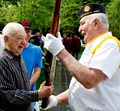 Bob Lampe and Pete Grossman, Memorial Day 2011