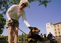 Barbara Burke and pooch