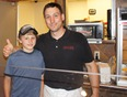 Tony Maucieri and son, Maucieri's Italian Bistro, Bar & Deli