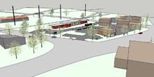 Depot on Q Block - sketch 1