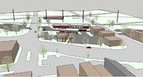 Depot on Q Block - sketch 2