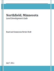 Land Development Code Board and Commission Review Draft-July 7, 2011