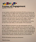 Frames of Engagement photo exhibition
